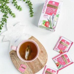 第2件1p+满£20享8折白菜价:Twinings 水果功能茶促销 7p/包 10多种口味任选