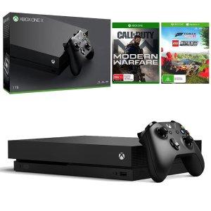 $412(原价$819.95)Xbox One X 1TB版 主机 + 2个游戏套装