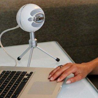 $59.99(原价$69.99)Blue Snowball ICE USB麦克风 黑白双色可选
