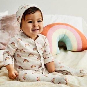 $3起限今天:Gymboree官网精选宝宝包臀衫、连身衣等一日促销