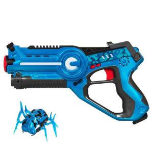 $19.99 + 包邮 粉蓝2色选有意思 儿童镭射玩具,目标瞄准乱爬的小蜘蛛 支持多人模式