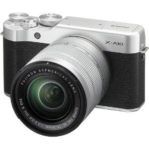 Fujifilm X-A10 Mirrorless Camera with XC 16-50mm