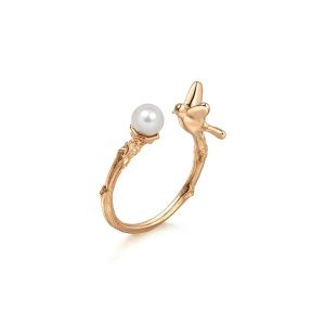 Journey 18K Gold Freshwater Pearl Ring | Chow Sang Sang Jewellery eShop