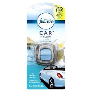 Febreze Bora Bora Waters Car Air Freshener - 1ct - 0.06oz : Target