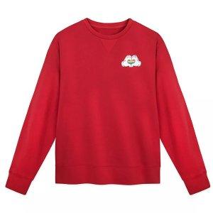 Disney女士大红色卫衣