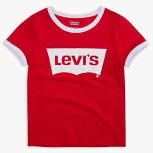 T恤$3+ 牛仔衣$12+包邮Levis官网 童装折扣区额外5折大促