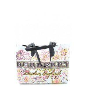 Burberry涂鸦tote包