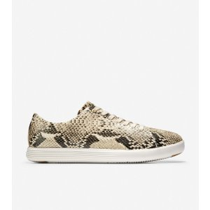 Cole Haan蛇纹休闲鞋