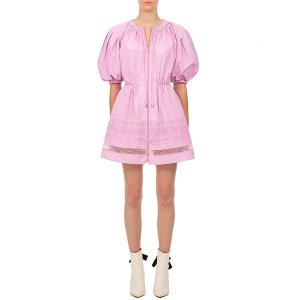 Self-PortraitPuff sleeves mini dress