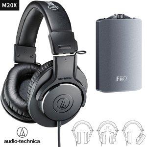 $69Audio-Technica ATH-M20X 监听耳机 + FiiO A3 耳放