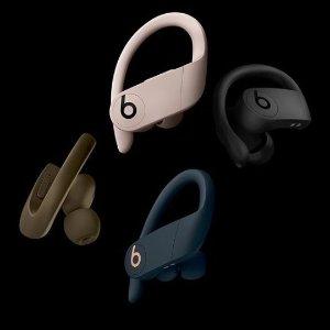 史低$297 (原价$349.95)新款预售:Beats Powerbeats Pro 无线蓝牙耳机 黑色款