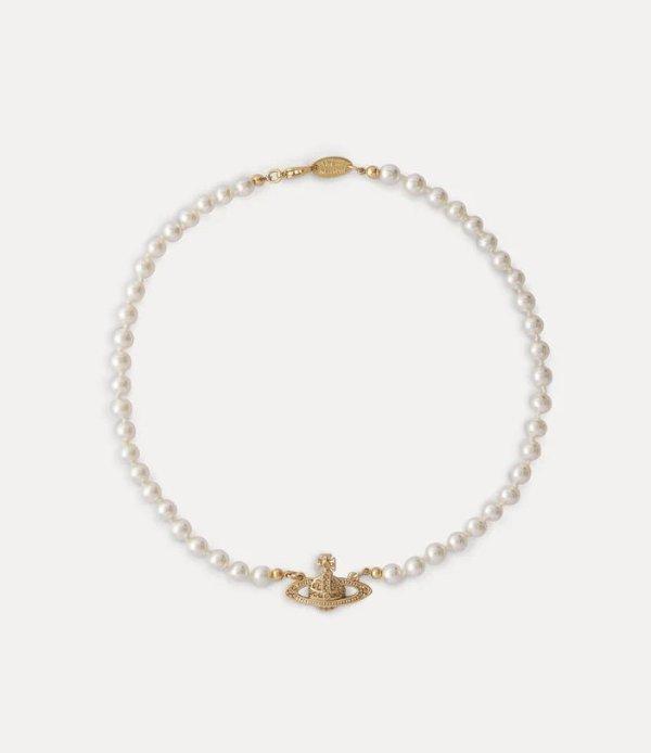 珍珠土星项链