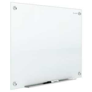 低至71折  $72.99起Quartet 玻璃干擦白板限时促销