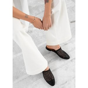 & Other StoriesWoven Leather Slip On Flats