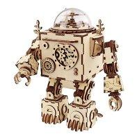 Robotime 3D DIY音乐盒,胸口可亮灯