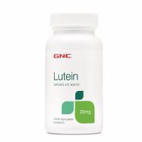 GNC 护眼叶黄素Lutein 20mg 60粒