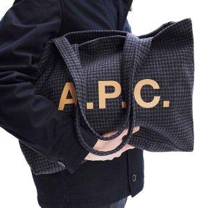 无门槛7.5折 收Celine box平替A.P.C.  法式简约风 T恤、卫衣、半月包享好价