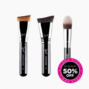 Sigma BeautyCream Complexion Brush Set
