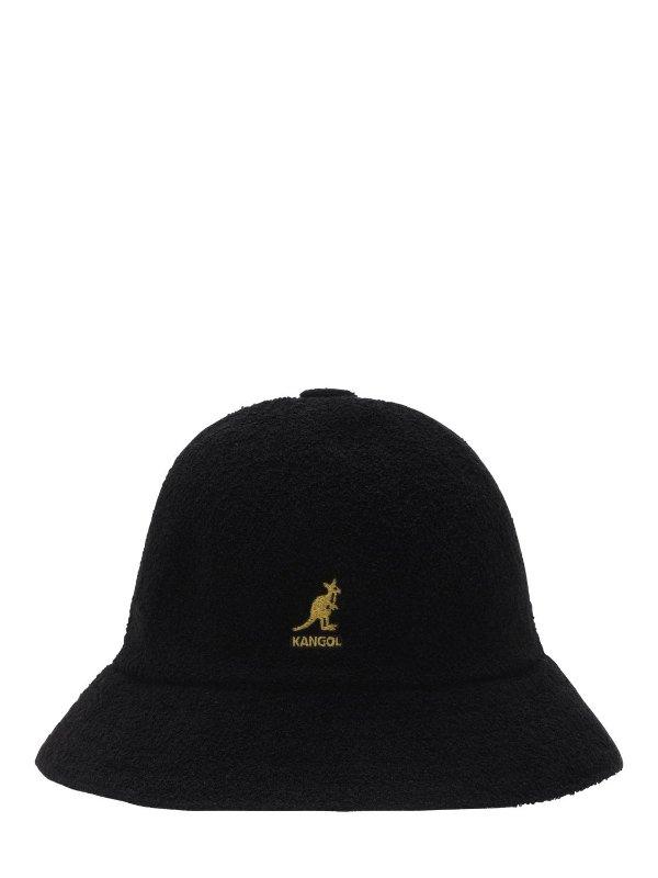 黑金渔夫帽