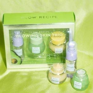 Glow RecipeGlowing Skin Trio (Value $73)