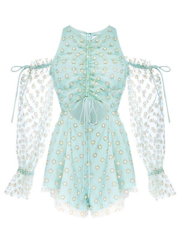 Stardust 蕾丝连体裙裤
