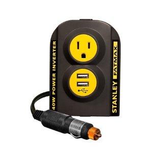 $11Stanley FatMax 140W 车载电源逆变器 附带USB口