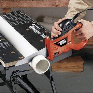 BLACK+DECKER PHS550B 3.4 Amp Powered Handsaw with Storage Bag