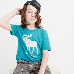 $7起限今天:abercrombie kids 儿童服饰一日闪购