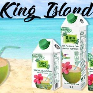 $3.99白菜价:King Island 100%纯正椰汁 1L装 好喝不怕胖