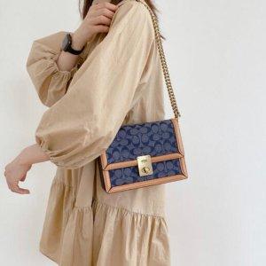 CoachHutton 香布蕾链条包