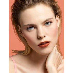 YSL Beauty141 pumpkin exposif方管口红