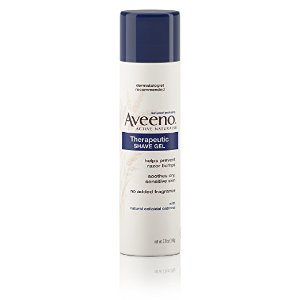 $3.74Aveeno Therapeutic Shave Gel To Reduce the Incidence of Razor Bumps 7 Oz