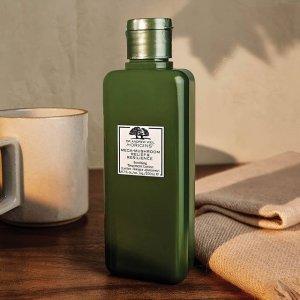 限时7.5折 €50收套装Origins 悦木之源 销量王冠菌菇水 还有超值菌菇水套装