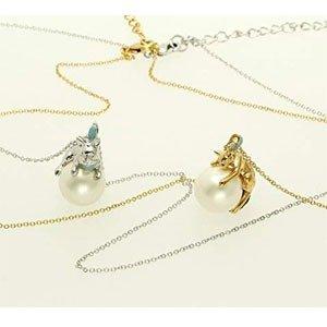 $52.4 / RMB352 直邮中美VENDOME BOUTIQUE 猫咪/狗狗珍珠项链 两款可选
