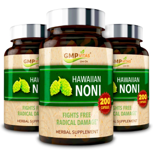 Up to 75% Off + Extra 15% OffGMP Vitas Hawaiian Noni 3-Bottle Bundle
