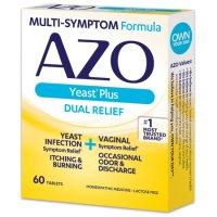 AZO Yeast Plus 抗酵母菌片 60粒装