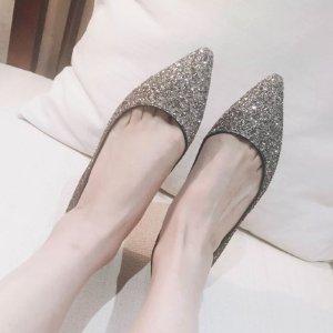 Jimmy ChooLOVE 水晶平底鞋