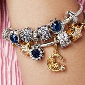$14.99起+新人免邮独家:Pandora 精美首饰专场,随心搭配,手链、可爱珠串都有