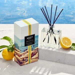 无门槛7.4折 蜡烛$59折扣升级:NEST 香氛热卖 Gray Malin 联名款上市 海滩风情