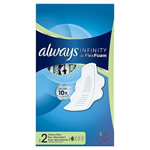 Infinity 卫生巾 量多型 96片