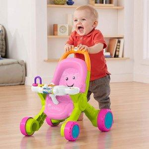 $15.30(原价$29.99)Fisher-Price 幼儿粉色音乐学步机促销
