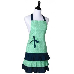 Women's Marilyn Mint Aztec Apron