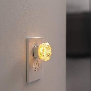 GE Jewel LED Night Light, 2 pk