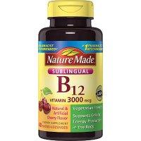 Nature Made 维生素B12 含片 3000mcg 樱桃味 40片