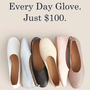 Today Only: Only For $100The Day Glove Shoes @ Everlane
