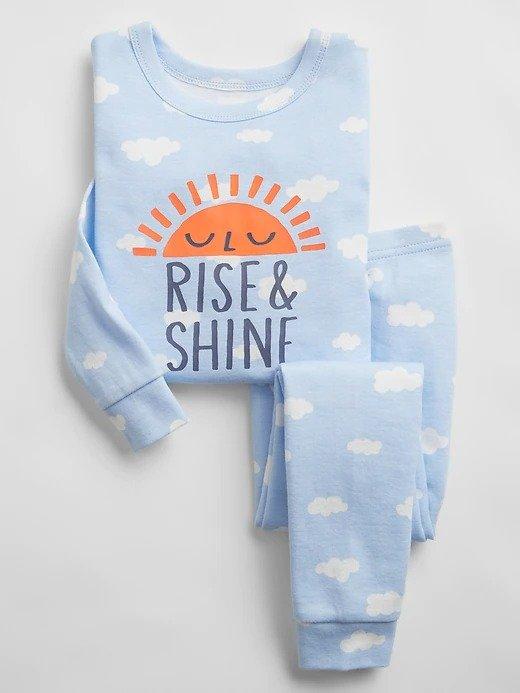 宝宝有机棉睡衣2件套