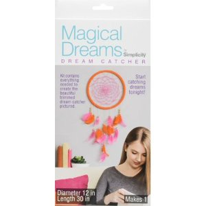Simplicity Dream Catcher Orange Pink - Walmart.com