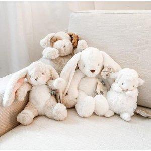 低至6.1折 毛绒小兔$15Bunnies By The Bay 毛绒玩具热卖 可爱的小动物安抚玩具