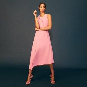 低至2折 £35收气质连衣裙REISS春装热卖中 休闲、职场、宴会、爬梯全都hold住