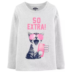 Oshkosh买一送一女童、大童T恤